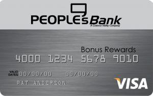 PeoplesBank Visa Credit Card