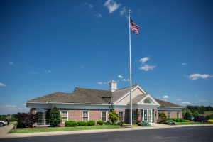 PeoplesBank financial center in Cape Horn