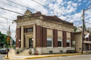 PeoplesBank financial center in Glen Rock
