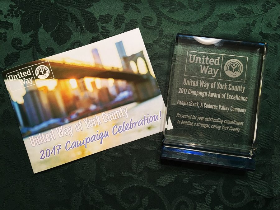 United Way Award