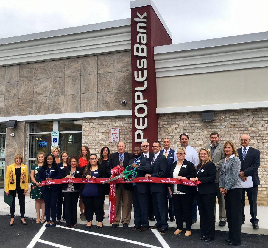 Ribbon Cutting at PeoplesBank Bel Air Financial Center