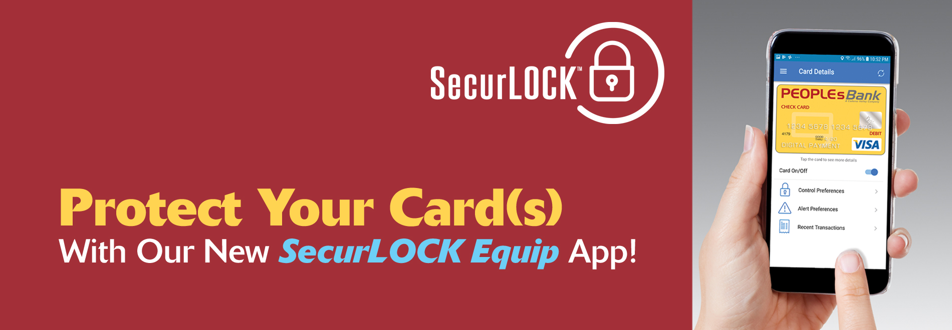 Protect Your Cards SecurLock Equip