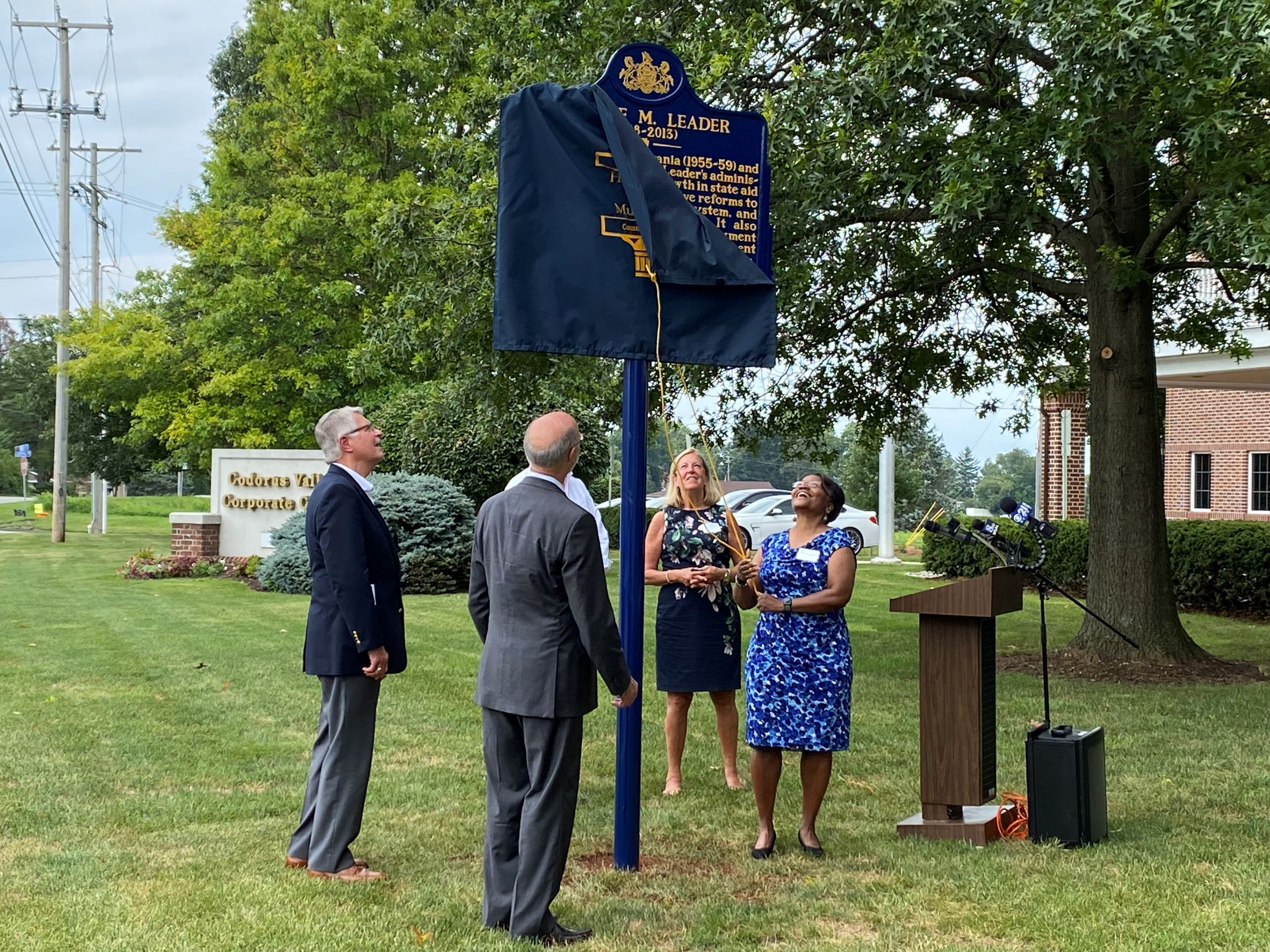 Unveiling of Historical Marker