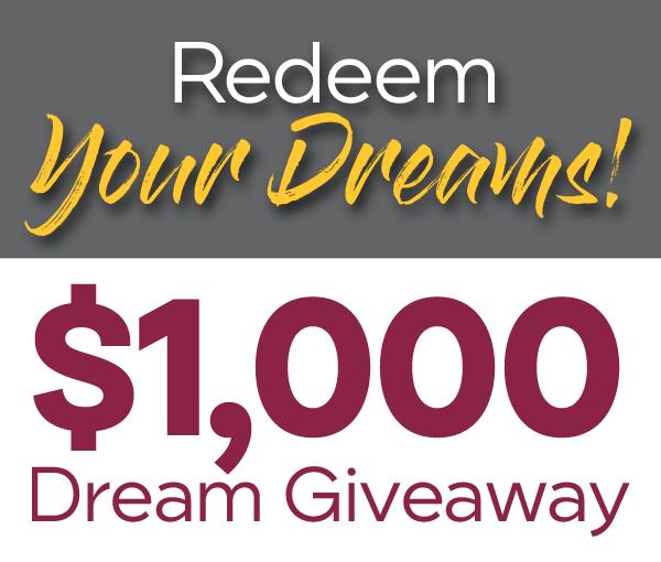 redeem your dreams