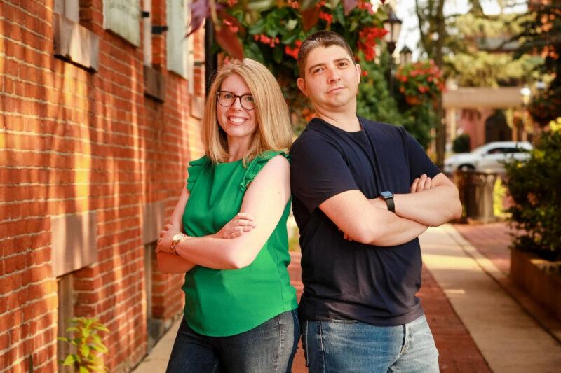 Rebecca and Will Hanlon